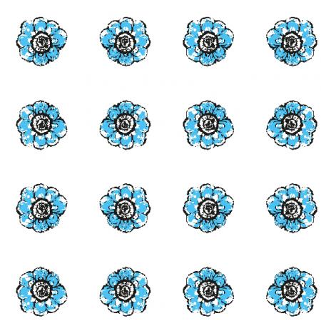 Fabric 10485 | Rustic flower 6
