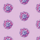Fabric 10487 | Rustic flower 7