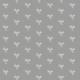 Tkanina 10491 | little bird - white AND grAy