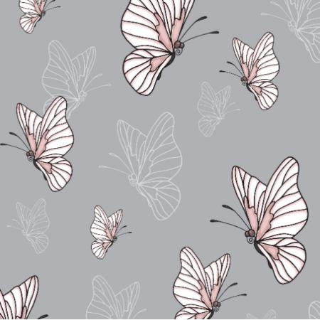 Tkanina 10539 | WATAHA - motyle