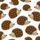 Fabric 10607   hedgehogs