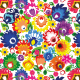 Fabric 10640 | Folk - kwiatki
