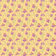 Tkanina 10667   Irises peachy