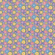 Fabric 10689   Folk - mandala -pASTELE
