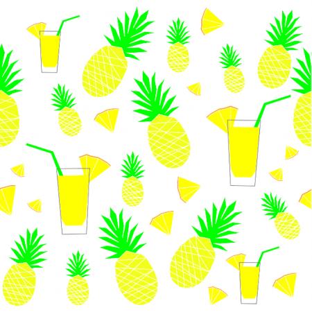 Fabric 10698 | Sok z ananasa