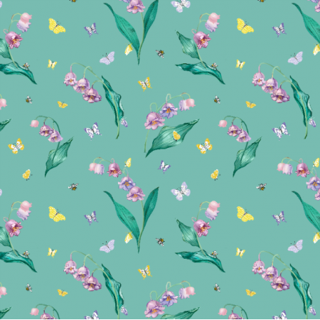 Fabric 10699 | MAYLILY GREEN