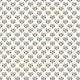 Tkanina 10703   Folk - serca - White