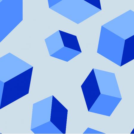 Fabric 10717 | Cubes
