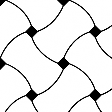 Fabric 10720 | Doodle Pattern B/W