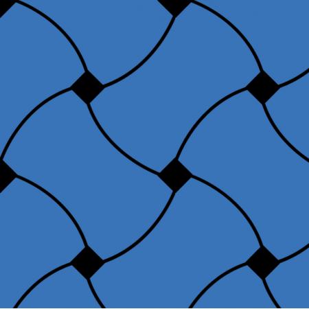 Fabric 10722 | Doodle Pattern Blue