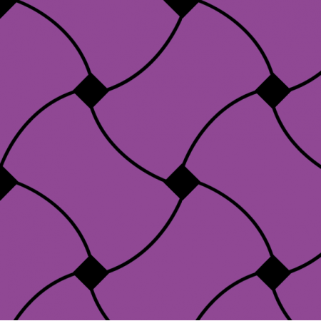 Tkanina 10725 | Doodle Pattern purple