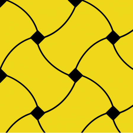 10726 | Doodle Pattern yellow