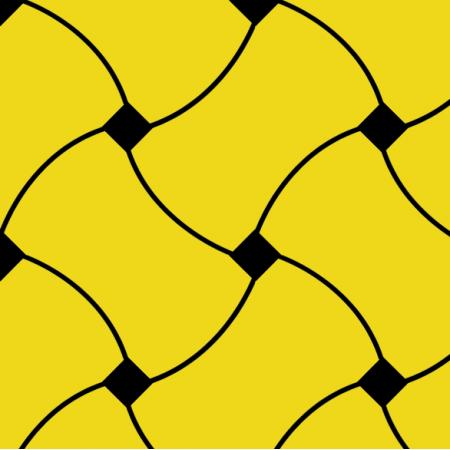Tkanina 10726 | Doodle Pattern yellow