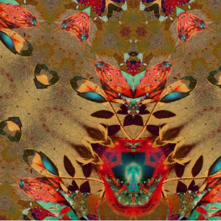 Fabric 10736 | Mariposa Azufre