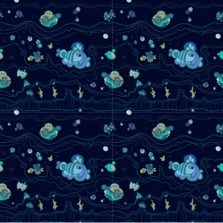 Fabric 10801 | AQUATIC 2