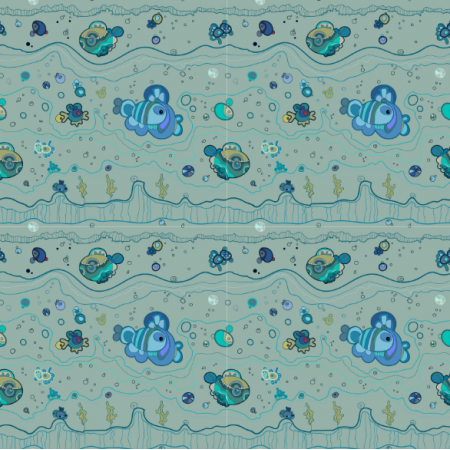 Fabric 10802 | AQUATIC 1