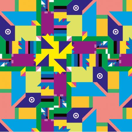 Fabric 10817 | geometryczne vivid 3