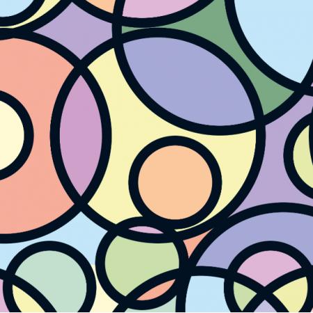 Fabric 10822 | Koła - multicolor - mellow