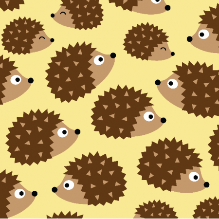 Fabric 10857 | hedgehogs