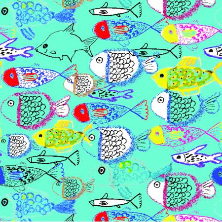 Fabric 10890 | rybki