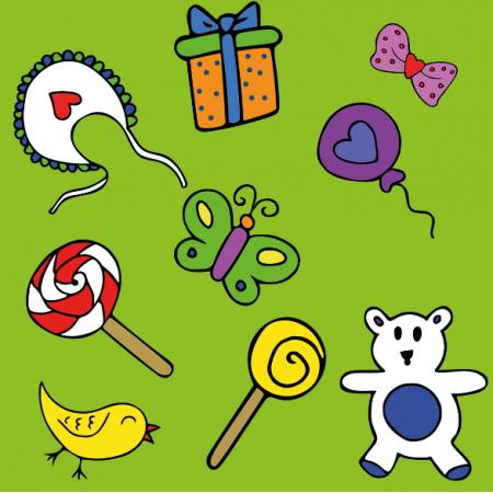 Tkanina 10892 | baby toys