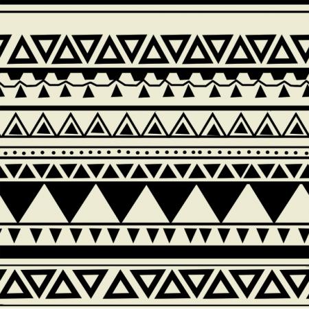 Fabric 10904 | wzór aztecki