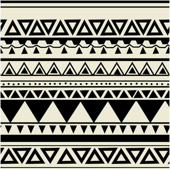 Tkanina 10904   wzór aztecki