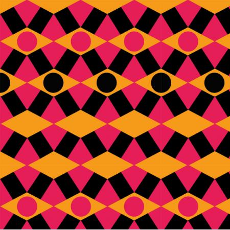 Tkanina 10913 | mozaika
