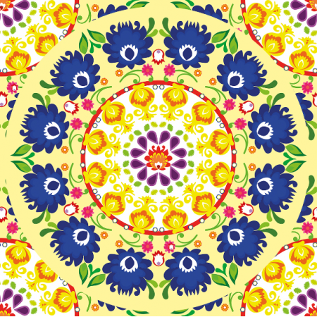 10931 | mandala yellow