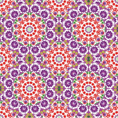 10945 | folk mandala purple2