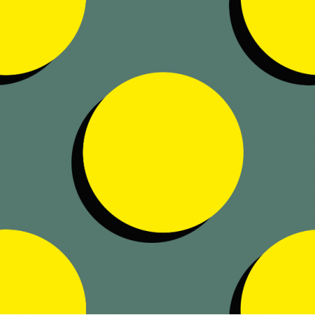 Fabric 10951 | Spots - yellow