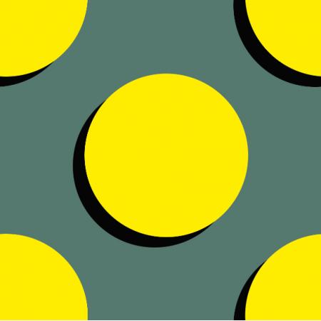 Tkanina 10951 | Spots - yellow