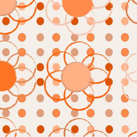 10991 | Orange Flowers