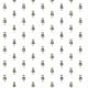 Tkanina 11020 | little robot - colourfull pattern for kids
