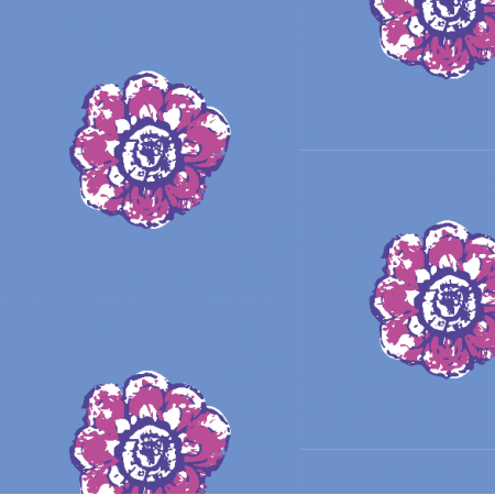 Fabric 11021 | rustic flower n9