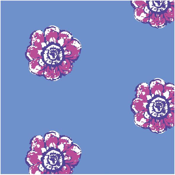 Tkanina 11021   rustic flower n9