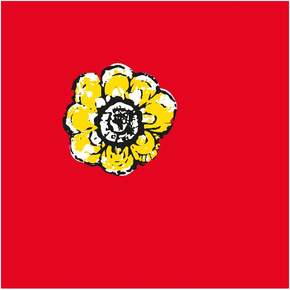 Tkanina 11022   rustic flower n8