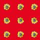 Tkanina 11022 | rustic flower n8