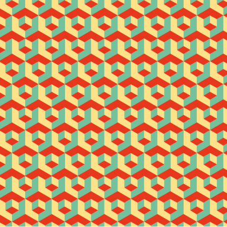 Fabric 11033 | Retro mozaika