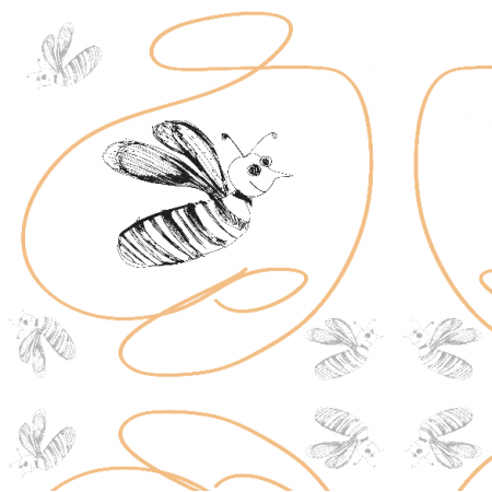 Fabric 11194 | Bees 2
