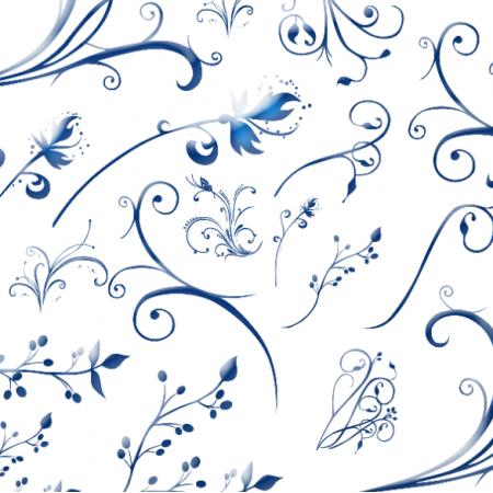 11210 | blue flowers