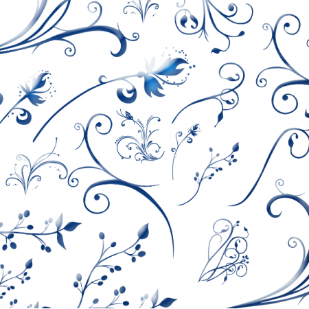 11215 | blue feathers
