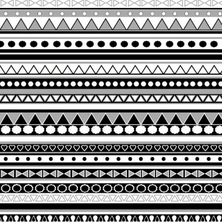 Tkanina 11264 | biało - czarny wzorek