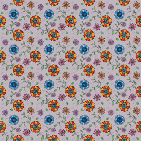 Fabric 11272 | Łąka Doodle2