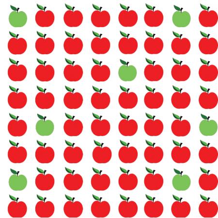 Tkanina 11282 | Apples