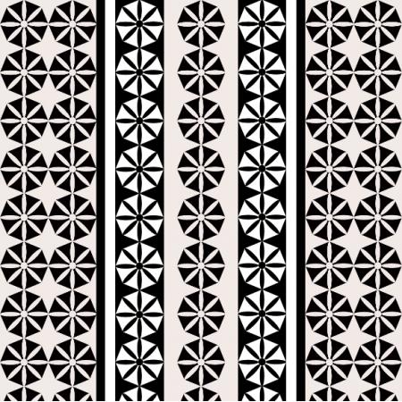 Fabric 11322 | Geometryczne kwiatki - MIX