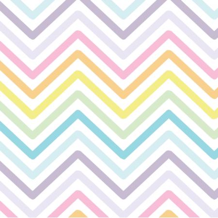 Fabric 11343 | Zig ZAK - biale tło