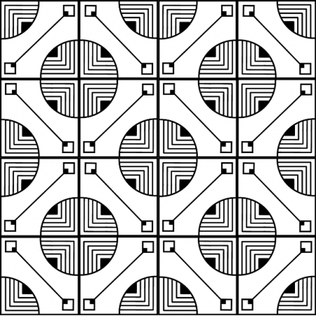 Tkanina 11360 | doodle bridge