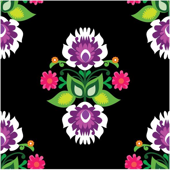 Fabric 11372 | Folk