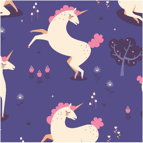 Tkanina 1316 | Unicorn Land